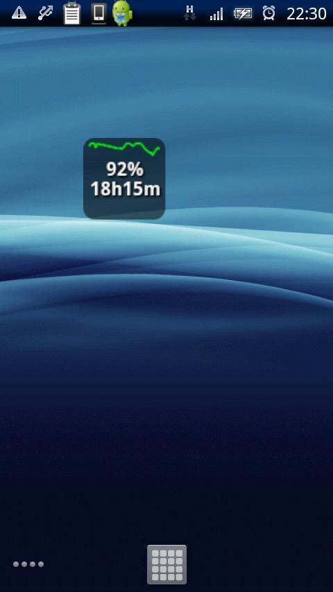 android バッテリー アプリ&ウィジェット Denchin