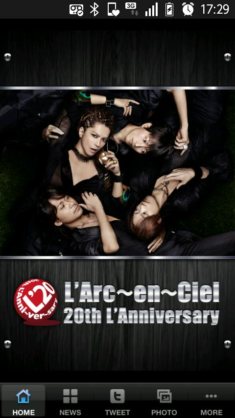 L'Arc~en~Ciel Official Appli