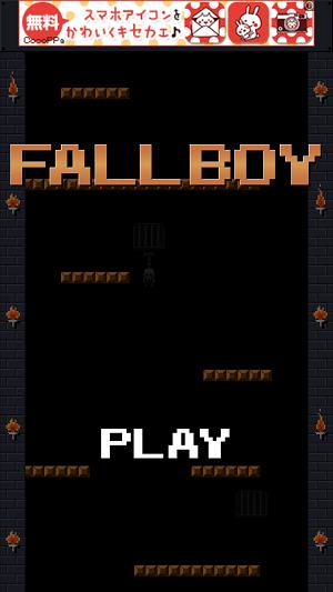 FALL BOY - Free adventure game