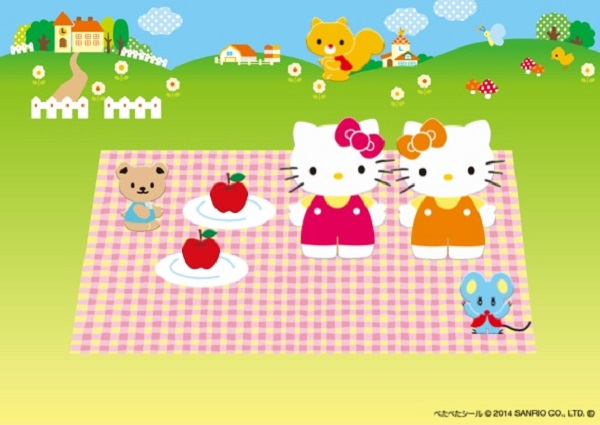 Hello Kitty Sticker Play
