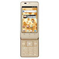docomo with series AQUOS PHONE slider SH-02D
