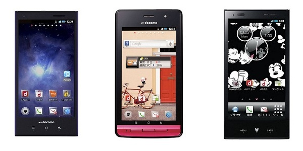 docomo android 4.0