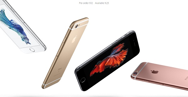 iPhone 6S/6S plus発表!日本では9/12から予約開始!9/25発売!